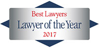 Best Lawyers - Lawyer of the Year 2017