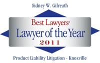 Listed in Best Lawyers in America 2011